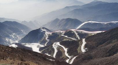 春雪如約而至 北京延慶最美冬奧城容顏初露