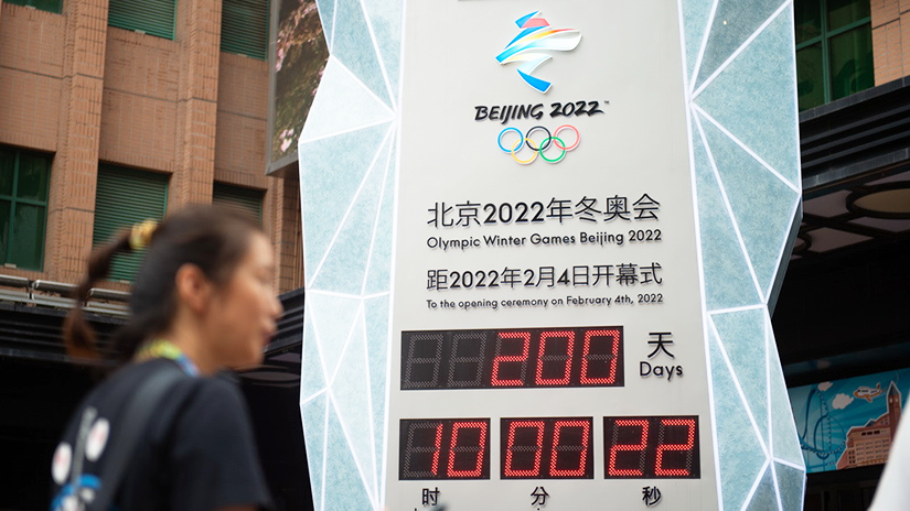 Chine : compte à rebours de 200 jours avant les Jeux d'hiver de Beijing