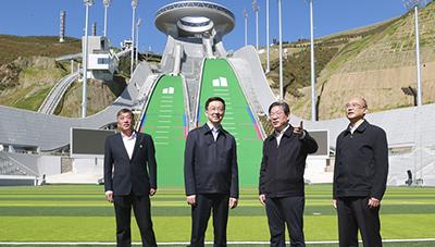 韓正在河北調研強調全力以赴做好各項籌辦工作 確保北京冬奧會冬殘奧會如期順利舉辦