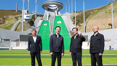 Chinese vice premier urges successful 2022 Winter Olympics
