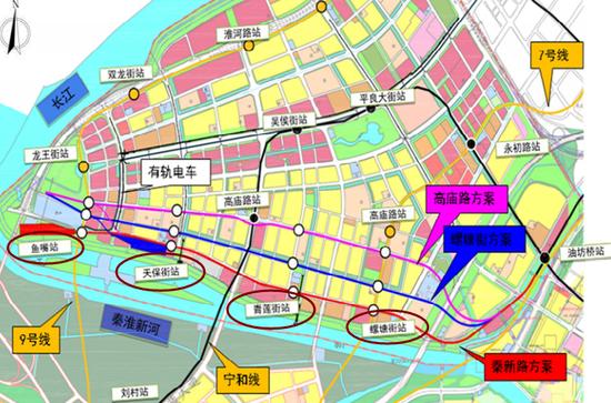 南京地铁2号线西延线新进展 周边受益楼盘有哪些?