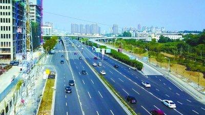 凤台南路整治 基本完工 打造四季有花的彩色大道