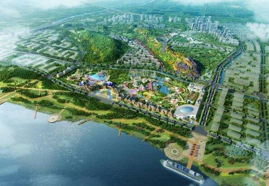 冷水滩华侨城规划图