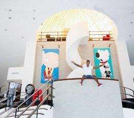 超豪华复式阁楼 领略嘻哈天王的艺术家