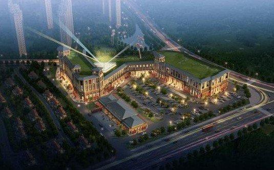 上大器已 城 汊河最大商业圈 城市花园商业广场