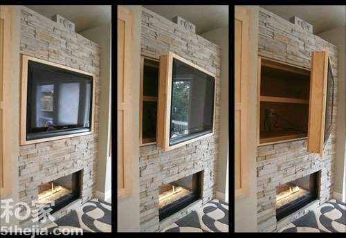 小空间能手 12款可折叠电视背景墙设计图片
