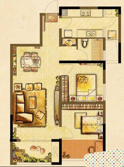 农村140平方房子设计图