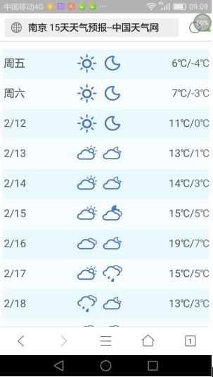 听说南京天气又要过山车了