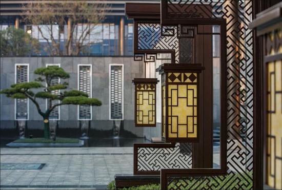 金科地产占地600亩新中式合院别墅 太惊艳了图片