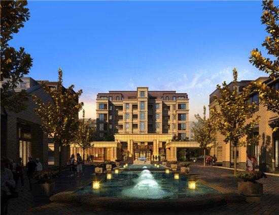 富力十号:不是别墅的墅感洋房别墅滁州市乡村图片
