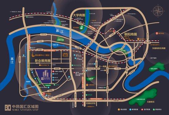 新城区双地铁全配套 中昂国汇88—110㎡新品上市