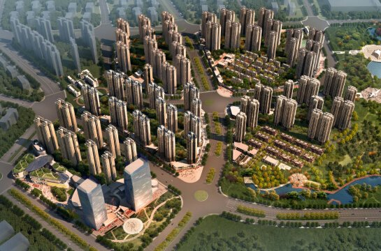 中海国际社区规划图-中海国际社区二期新品升级面市 2千抵3万再启预