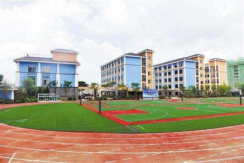 五象新区4所新学校正式投入使用
