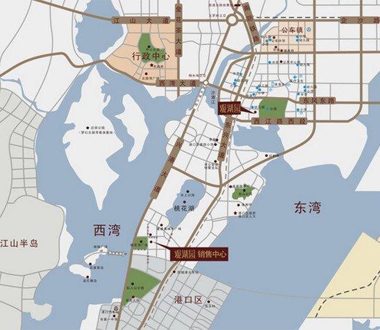 防城港地图图片