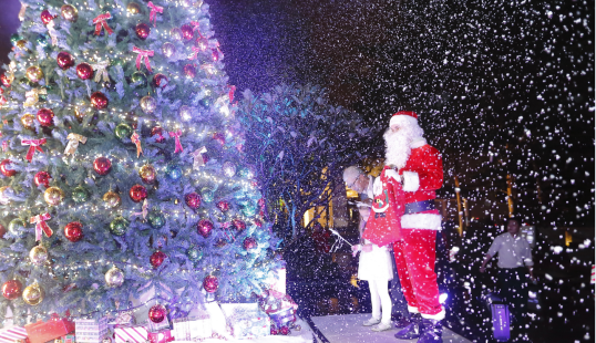 【圣诞节倒计时】12月9日来江南万达看圣诞亮灯仪式