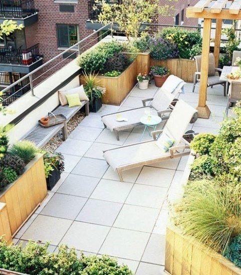 大阳台有大妙用,除了养草种花还能……