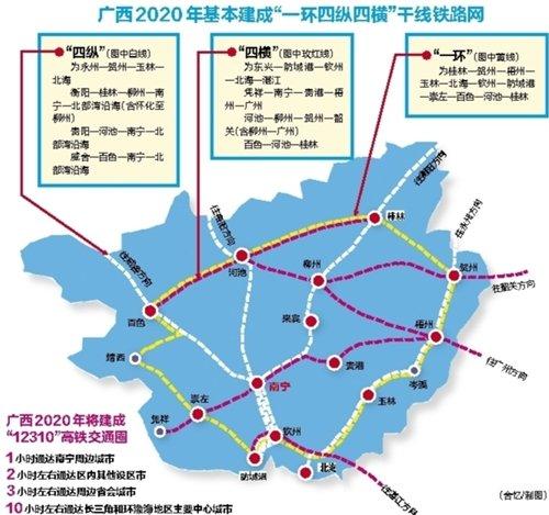 今年将建南宁至凭祥高铁 崇左河池有望纳入高铁圈图片