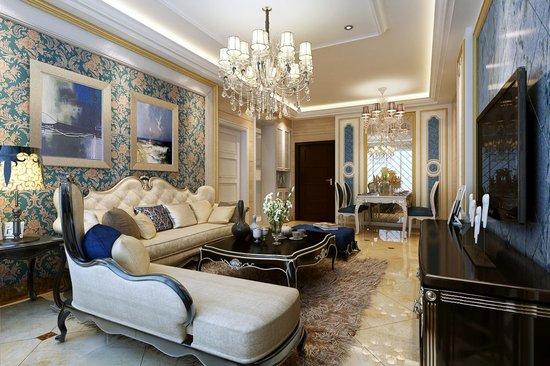 欧式风格的客厅,餐厅设计