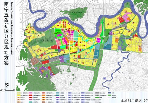 五象新区规划地图图片