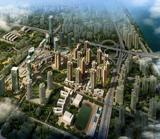 藤县教育城新区规划图