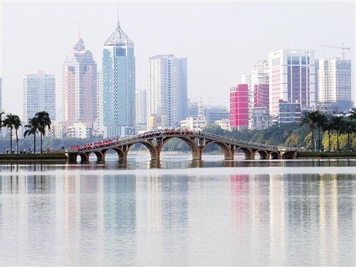 海绵城市建设,让南湖水质再提升