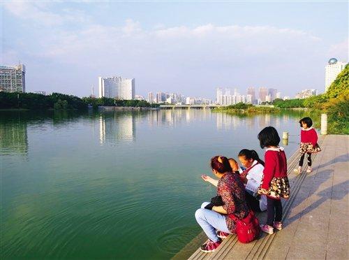 海绵城市建设让南湖水更清