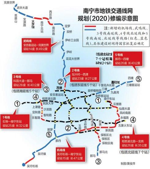 南宁地铁2号线都开通了,3号线还远吗?