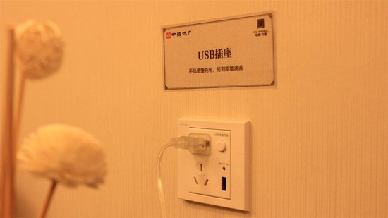 中海九玺样板间USB插座