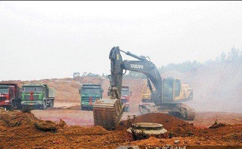 """五象新区3个""""开门红""""项目动工 新区建设加速"""