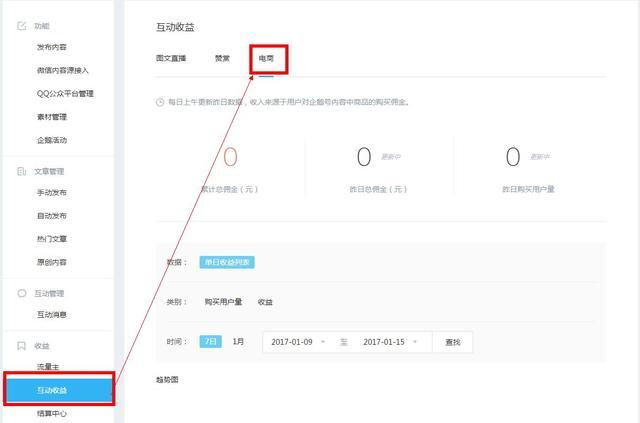 腾讯内容开放平台电商插入功能上线