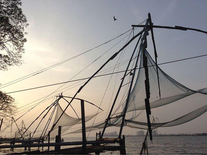 科钦的中国渔网