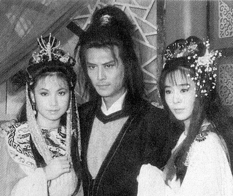 """1985年台视《孤剑恩仇記》,刘德凯饰演""""君无愁"""""""