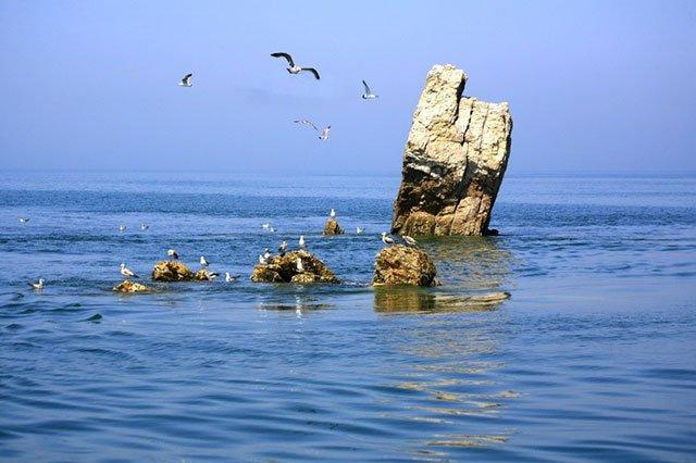 庄河黑岛老人石