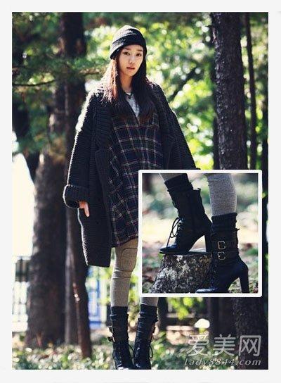 超人气韩式美靴的8种搭配法则 很强劲