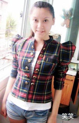 拍友试穿:耸肩小西装的10种搭配方案