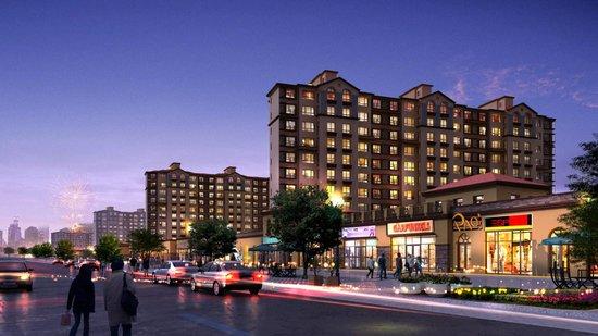 6666 接待中心:新区龙湾大街华泰酒店对面 项目地址:辽宁省葫芦岛市打