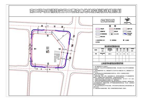 开源路上两处地块的详细规划公布 看都是什么用途?
