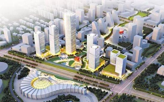 郑万高铁平顶山西站动工 距建业十八城仅9公里!