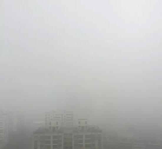 平顶山雾霾把鹰城人逼成了诗人,你知道么?