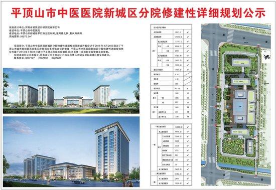 常绿林溪美地业主新喜:市中医医院新城区分院日前开工