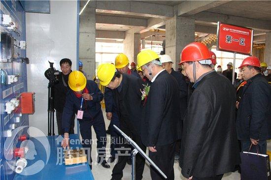 国宾府施工质量安全标准化管理现场观摩会圆满结束