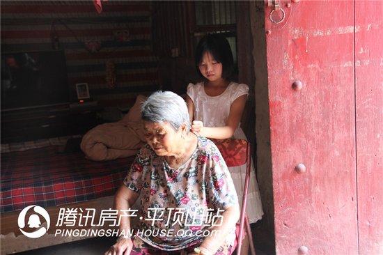 平顶山10岁张鑫蕊:奶奶我给你洗洗头
