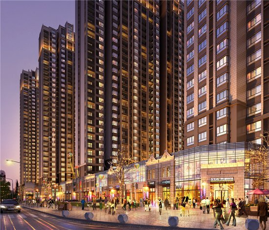 湛河畔东城区核心地段 上海映象橙果公寓甜蜜来袭!