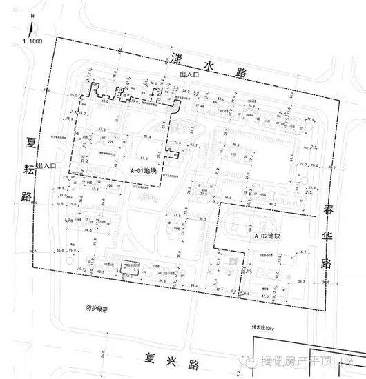 平顶山新城区德馨苑公租房小区目前规划公示中