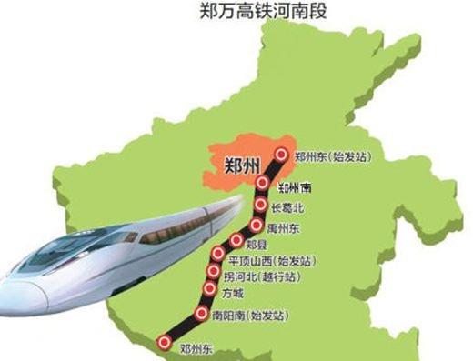 平顶山通过郑万高铁站周边规划及城市设计项目