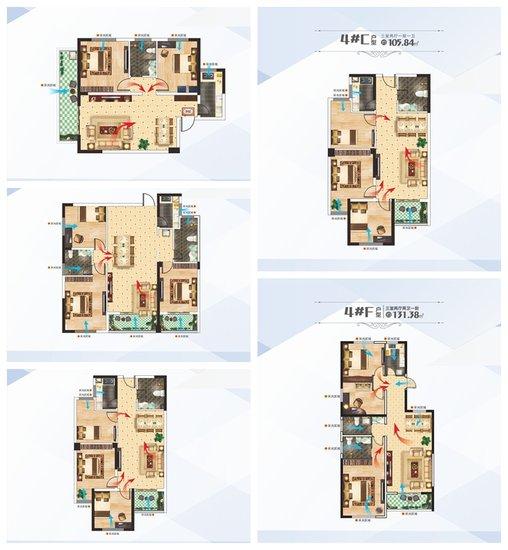 百汇国贸中心3#、4#楼户型品鉴 总有一款让你倾心