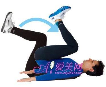 运动瘦身:9组腹部减肥动作减掉肚子上恼人赘肉减肥加节食运动20斤图片