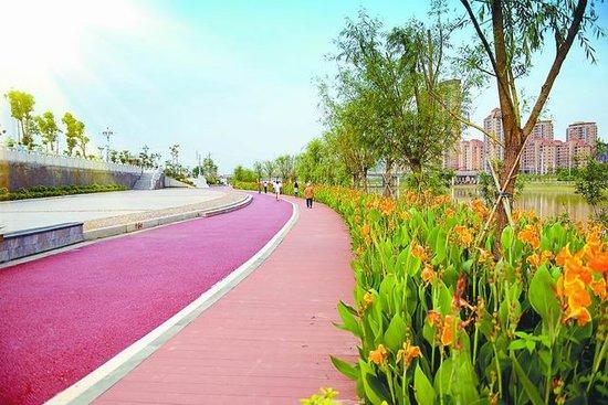木兰溪城区景观试验段加紧建设 春节前完工