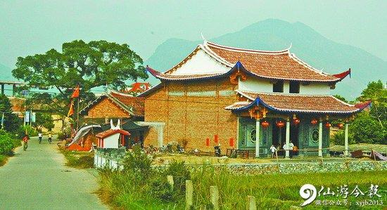 莆田青松观音亭 创建于清代晚期