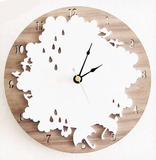 9款创意挂钟 记录流逝的点滴时间图片